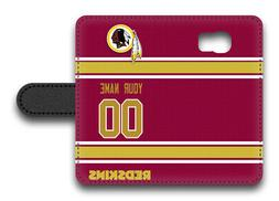NFL Washington Redskins Personalized Name/Number Samsung Pho