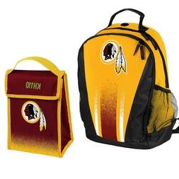 nfl washington redskins prime backpack lunch bag
