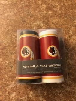 NFL Washington Redskins Salt & Pepper Shakers Set Filled & S