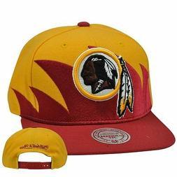 NFL Washington Redskins Sharktooth Mitchell and Ness M&N Sna