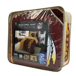 "NFL Washington Redskins Soft & Cozy Twin Comforter Set , 64"""