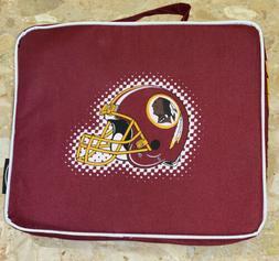 NFL Washington Redskins STADIUM SEAT CUSHION w Handle Padded