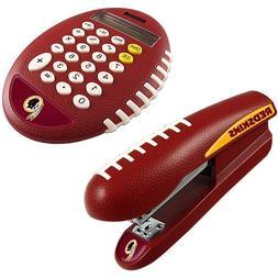 NFL Washington Redskins Stapler/Calculator Set
