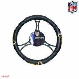 NFL Washington Redskins Synthetic Leather Premium Steering W