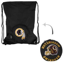 NFL Washington Redskins Tuckaway Backsack, Black