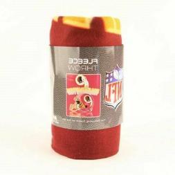 Northwest Washington Redskins Gridiron Fleece Throw