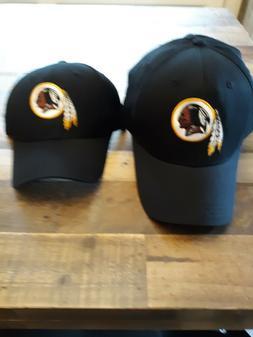 Official NFL Washington Redskins Black Baseball cap