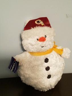 "Forever Collectibles Plush Washington Redskins 11"" Snowman"