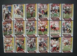 REDSKINS TEAM SETS Your Pick 1988 1989-90 1991-1993 Topps Fl