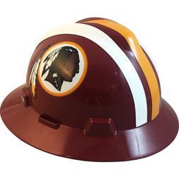 MSA V-Gard FULL BRIM WASHINGTON REDSKINS NFL Hard Hat Type 3