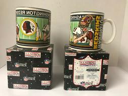 VINTAGE 1992  Sports Impressions NFL WASHINGTON REDSKINS Mug