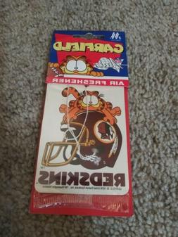 Vintage RARE 1978 garfield Washington redskins Air Freshener