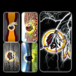 wallet case Washington Redskins galaxy S7 S8 S8plus S9 S9plu