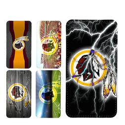wallet case Washington Redskins iphone 7 iphone 6 6+ 5 7 X X