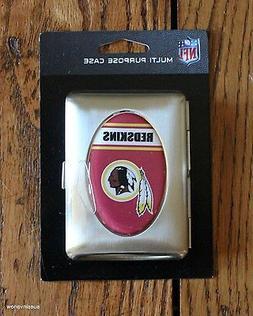 Wallet Washington Redskins Multi purpose Metal Case Football