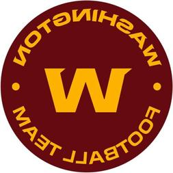 Washington Football Team Redskins Vinyl Sticker