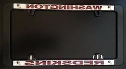 Washington Redskins NEW Car License Plate Frame