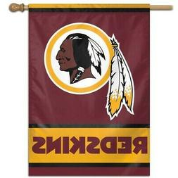 WASHINGTON REDSKINS ~  Official NFL 28x40 Outdoor House Flag
