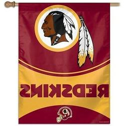 WASHINGTON REDSKINS ~  Official NFL Outdoor House Flag Banne