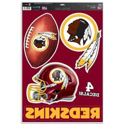 "Washington Redskins 11"" x 17"" Multi Use Decals - Auto, Walls"