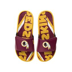 Washington Redskins 2020 NFL Men's GEL Slide On Sandal FREE