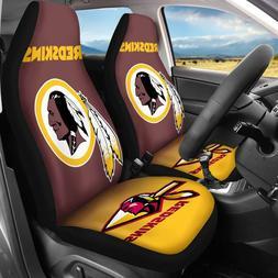 Washington Redskins 2PCS Car Seat Covers Universal Fit Auto