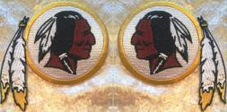 washington redskins 3 5 iron on embroidered