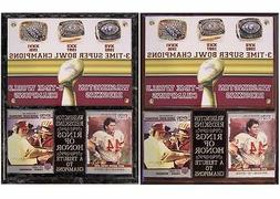Washington Redskins 3-Time Super Bowl Champions Rings of Hon