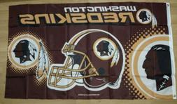 Washington Redskins 3x5 Flag. US seller. Free shipping withi
