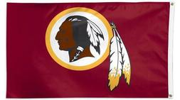 Washington Redskins 3x5 Foot Flag Banner New