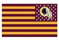Washington Redskins 3x5 Ft American Flag Football New In Pac