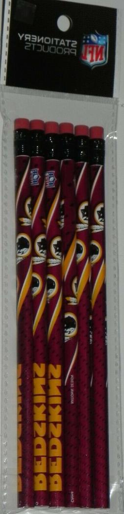 Washington Redskins 6 Pack Pencils National Design