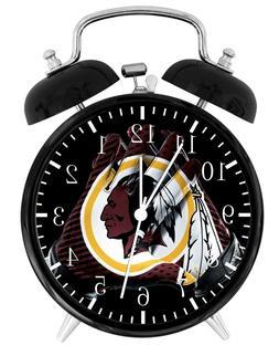 Washington Redskins Alarm Desk Clock Home or Office Decor F1