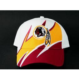 WASHINGTON REDSKINS BASEBALL CAP HAT SHARK TOOTH STYLE ADJUS