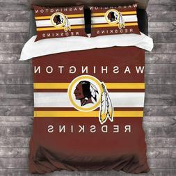 Washington Redskins Bedding Set Comforter Cover Pillowcases