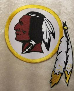 """Washington Redskins BIG 8"""" Jacket Size Iron/Sew On Embroider"""