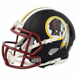 Riddell Washington Redskins Black Matte Alternate Speed Mini