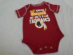 Washington Redskins Bodysuit NFL Football Baby New Outfit Sh