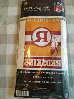 Washington Redskins Brand New 28x40 Throwback Banner