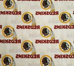 "Washington Redskins BTY 56"" Wide Fabric Traditions Red Yello"