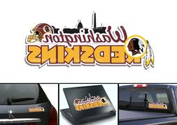Washington Redskins Bumper Sticker Window Vinyl Decal