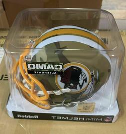 Washington Redskins Camo Alt Riddell Speed Mini Helmet - New