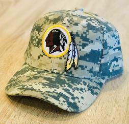 Washington Redskins Camo baseball Hat Patch Style Mesh Cap A