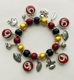 Washington Redskins Charms Bracelet