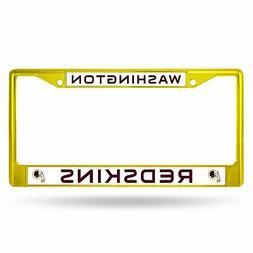 Washington Redskins Chrome License Plate Frame Tag Cover Car
