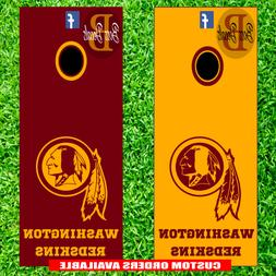 Washington Redskins Corn hole Set of 6 Vinyl Decal Stickers