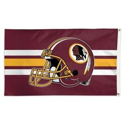 WASHINGTON REDSKINS DELUXE 3'X5' HOUSE FLAG WALL BANNER NFL
