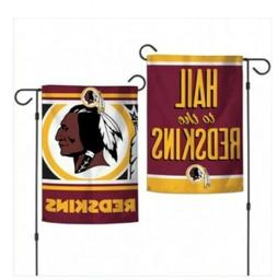 "🏈🏈WASHINGTON REDSKINS DOUBLE SIDED GARDEN FLAG 12""X18"""