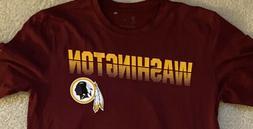 Nike Washington Redskins Dri-Fit T-Shirt Short Sleeve SZ Lar