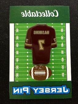 Washington Redskins Dwayne Haskins lapel pin-Collectible-For